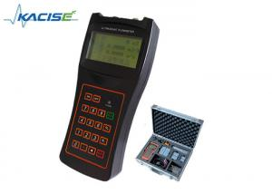 China Rechargeable Battery Portable Ultrasonic Flow Meter For Routing Inspection on sale