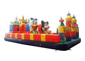 China Mickey Mouse Inflatable Fun City Outdoor Inflatable Jumping Naughty Castle on sale