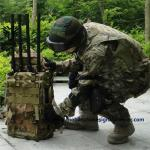 Waterproof Military Durable Backpack High Power GPS WIFI5.8G Drone Signal Jammer