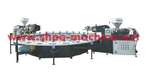 China plastic sole injection molding machine on sale