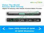 Digital QAM DVB - modulateur de la Manche de C 16 avec le système de câble d'écart-type/HD rf