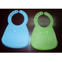 Flexible Food Grade Silicone Waterproof Baby Bibs With Unique Food Catcher