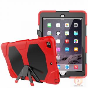 China Full protective housing stand hybrid rubber kidsproof case for iPad 9.7' 2018 6th iPad cover on sale