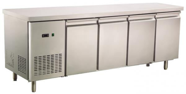 Industrial Custom Table Top Refrigerator With Doors L - Custom stainless steel table top