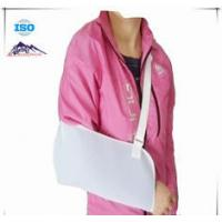 White Shoulder Support Brace / Breathable Arm Sling Breathable Mesh Cloth Material