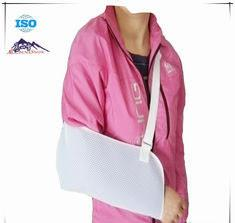 China White Shoulder Support Brace / Breathable Arm Sling Breathable Mesh Cloth Material on sale