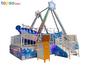 China 12 Seat Portable Pirate Ship Ride  Kids Pirate Ship Indoor Playground on sale