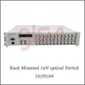China Rack Mounted 1×N(16≤N≤64) Optical Switch on sale