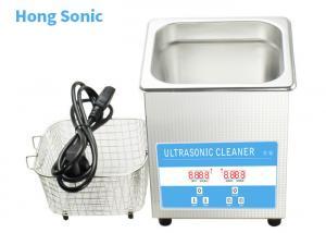 China 0.8L Digital Control Ultrasonic Jewelry Cleaning Machine 30W Ultrasonic Power on sale