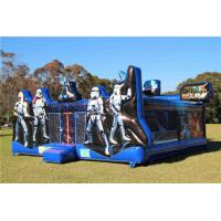 Fire Retardant Star Wars Inflatable Bouncer Jumping Castle With Customized Size