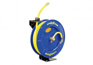 China Goodyear Flexible  Hose Reel Auto Retractable Air Operated w/ 1/2in. x 20m Hose on sale