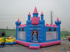 China PVC Tarpaulin Outdoor Inflatable Bounce House Rentals Available UV Proof on sale