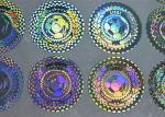 Anti-couterfeiting security hologram sticker for games and concert events ticket
