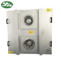 Class 100 FFU Fan Filter Unit Large Air Volume Galvanized Steel Material AC 220V 50 Hz