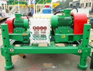 China High Efficiency Drilling Mud Decanter Centrifuge 450mm Bowl Diameter 50m³/H Capacity on sale