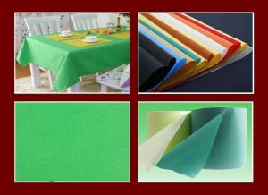 China Eco-friendly Hydrophilic PP Non Woven Fabric Wholesale for Table Cloth / Sofa Cover on sale