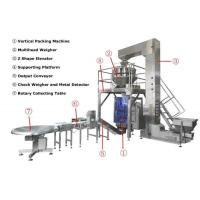 Multi-function 4 head linear weigher high accuracy full automatic good quality vertical washing powder packing machine