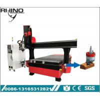 Multi Functional 4 Axis CNC Wood Router Machine Italy Drilling Head Type