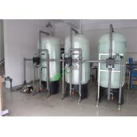 Single Reverse Osmosis Water Purification Equipment , 5 TPH Water Purifying Plant