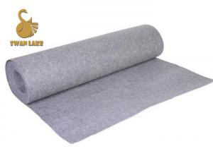 China Breathable Anti Static Needle Punched Felt Roll 100 Nonwoven Polyester on sale