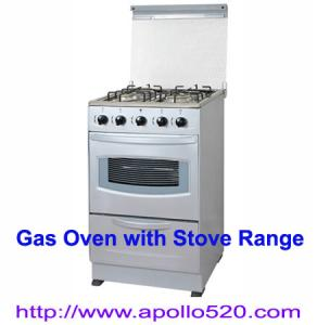 China CBU Free Standing 4 Burner & Oven Gas Stove on sale
