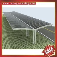 outdoor metal aluminum alloy polycarbonate pc carport parking car shed bike bicycle motorcycle shelter canopy awining