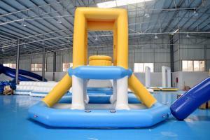 Quality オーストラリアの膨脹可能な商業水しぶき公園/浮遊水運動場装置 for sale