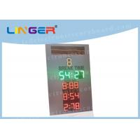 Grey Color IP65 LED Electronic Scoreboard Paintball With Black Stickers