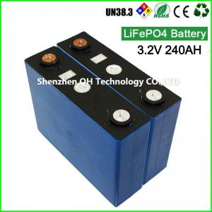 China Factory Direct Sell 3.2V 240Ah LiFePO4 Battery Cell Wholesale LiFe For UPS Telecom Base Station on sale