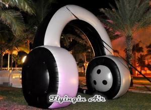 China Concert and Party Decoration Supplies Inflatable Headset for Sale on sale