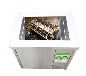 China Mechanical Automatic Industry Ultrasonic Cleaner For Filters Tubes and Valves on sale