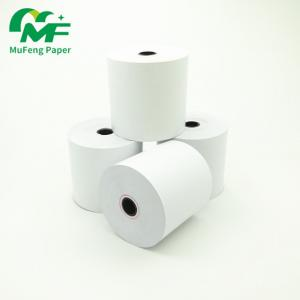 China 80 x 80 thermal  roll paper used for Cash Register Receipt Printer black image on sale