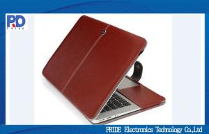 China Luxury Faux Leather Macbook Laptop Case , Macbook Air / Pro Protective Cover on sale