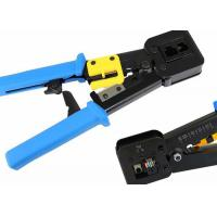 China CAT5E / CAT6 LAN Cable Accessories Shield / Unshield Crimping Tools Crimper on sale