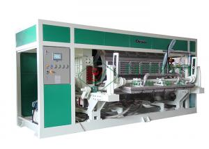China Rotary Type Paper Egg Tray Machine For Egg Tray / Egg Carton / Egg Box Hot Air Forming Production Line on sale