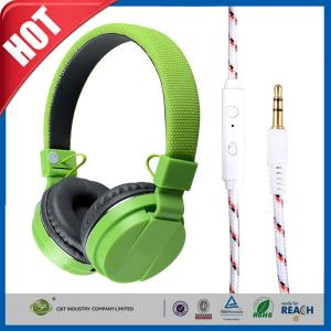 China Noise-isolation Smartphone Iphone Earphones Earbuds with Mic Over-ear on sale