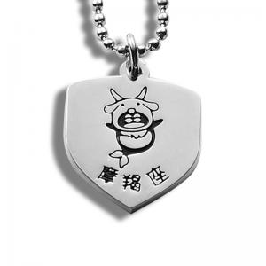 China Popular Personalized Metal Dog Tags Zinc Alloy Baking Paint Hanging Plate on sale