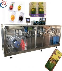 China plastic bottle spicy jam sauce packing machine on sale
