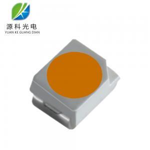 China 0.06w Led Smd 3528  Mixed Yellow Light Phosphor 1600-1800K Emitted Orange Color on sale