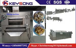 China Stainless Steel Corn Flakes Making Machine , Custom Grain Processing Equipment on sale