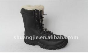 China Warm safety shoes ,winter safety work boots on sale