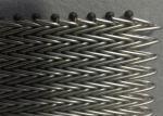 310 Herringbone Conveyor Wire Mesh Belt For High Temperature Hardware Production Oven