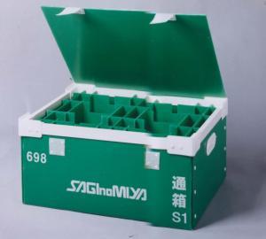 China Portable Corrugated Plastic Boxes on sale