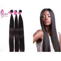 Raw Virgin 100 Mink Brazilian Virgin Hair Extensions / Straight Bundles With Closure
