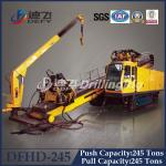 248 Ton Pull Capacity DFHD-245 Trenchless Laying Pipe HDD Rig Machine