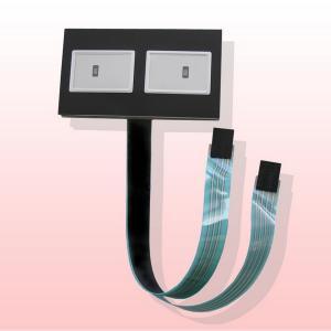 China DC 12V 30mA 1x4 4 Key Array Membrane Switch Keyboard on sale