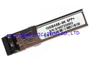 China Dual LC Pluggable Interfaces SFP Transceiver / fiber optic transceiver module for Networks on sale