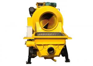 China Electric Mobile Cement Mixer And Pump High Pressure Self Priming Type on sale