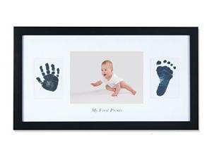 China Sweet Memory Baby Ink Hand And Footprint Kit Newborn Baby Photo Frame on sale