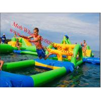PVC Tarpaulin Lake Inflatable Water Park for Adults Inflatable Aqua Park Games